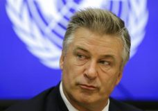 "FILE - In this Sept. 21, 2015, file photo, actor Alec Baldwin attends a news conference at United Nations headquarters. Baldwin tells Vanity Fair for a story published online on March 28, 2017, that he's ""stunned"" at the popularity of his impression of President Donald Trump on ""Saturday Night Live."" (AP Photo/Seth Wenig, File)"