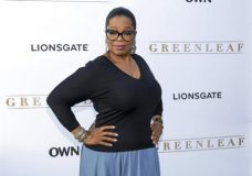 "FILE - In this June 15, 2016 file photo, Oprah Winfrey arrives at the season one premiere of ""Greenleaf"" in West Hollywood, Calif. Winfrey says she is regaining her creative confidence after finding a scripted television series that has kept viewers tuned into her OWN Network. ""Greenleaf"" delves into a story about the troubled first family of a sprawling Memphis, Tennessee, megachurch where adultery and domestic abuse causes disorder in a house of worship. The second season of the show premieres March 15 at 10 p.m. EDT on OWN. (Photo by Willy Sanjuan/Invision/AP, File)"