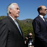 Tillerson Faces Tough Talks In Moscow Amid Increased Tensions