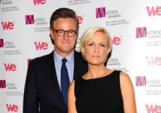 """FILE - In this Monday April 22, 2013, file photo, MSNBC's """"Morning Joe"""" co-hosts Joe Scarborough and Mika Brzezinski, right, attend the 2013 Matrix New York Women in Communications Awards at the Waldorf-Astoria Hotel in New York. MSNBC confirmed Thursday, May 4, 2017, that the """"Morning Joe"""" co-hosts are engaged. (Photo by Evan Agostini/Invision/AP, File)"""