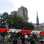 Man Attacks Paris Police With Tool At Notre Dame 'For Syria'