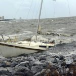Hurricane Nate Makes Landfall At Mouth Of Mississippi River