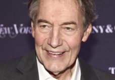 FILE - In this Oct. 24, 2017 file photo, Charlie Rose attends New York Magazine's 50th Anniversary Celebration in New York. The Washington Post says eight women have accused television host Charlie Rose of multiple unwanted sexual advances and inappropriate behavior. CBS News suspended Rose and PBS is to halt production and distribution of his show following the sexual harassment report. (Photo by Andy Kropa/Invision/AP, File)