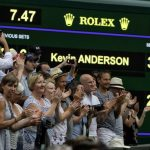 Anderson Edges Isner 26-24 in 5th For 1st Wimbledon Final