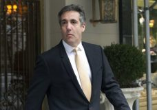 Michael Cohen, former personal lawyer to President Donald Trump, leaves his apartment building, in New York, Tuesday, Aug. 21, 2018. (AP Photo/Richard Drew)