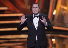 "FILE - In this March 13, 2016, file photo, Norm Macdonald begins as host of the Canadian Screen Awards in Toronto. ""The Tonight Show canceled an appearance by Macdonald after he made comments about the MeToo movement and fellow comedians Louis C.K. and Roseanne Barr. (Peter Power/The Canadian Press via AP, File)"