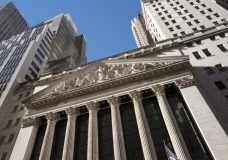 FILE- This Dec. 21, 2016, file photo shows the New York Stock Exchange. The U.S. stock market opens at 9:30 a.m. EDT on Friday, Sept. 7, 2018. (AP Photo/Mark Lennihan, File)