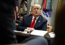 President Donald Trump speaks during a meeting of the President's National Council of the American Worker in the Roosevelt Room of the White House, Monday, Sept. 17, 2018, in Washington. (AP Photo/Evan Vucci)