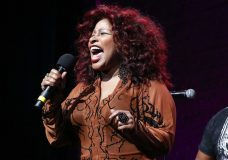 """FILE - In this Oct. 24, 2014, file photo, Chaka Khan performs at the 13th annual """"A Great Night in Harlem"""" gala concert in New York. Chaka Khan has been named grand marshal of the 2019 Rose Parade, which will feature the theme, """"The Melody of Life."""" Tournament of Roses President Gerald Freeny announced the selection Wednesday, Oct. 17, 2018. (Photo by Mark Von Holden/Invision/AP, File)"""