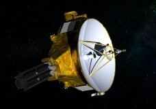 FILE - This illustration provided by NASA shows the New Horizons spacecraft. NASA launched the probe in 2006; it's about the size of a baby grand piano. NASA's New Horizons spacecraft is set to fly past the mysterious object nicknamed Ultima Thule at 12:33 a.m. Tuesday, Jan. 1, 2019. (NASA/JHUAPL/SwRI via AP)
