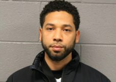 """This Feb. 21, 2019 photo released by the Chicago Police Department shows Jussie Smollett. Police say the """"Empire"""" actor turned himself in early Thursday to face a charge of making a false police report when he said he was attacked in downtown Chicago by two men who hurled racist and anti-gay slurs and looped a rope around his neck. (Chicago Police Department via AP)"""