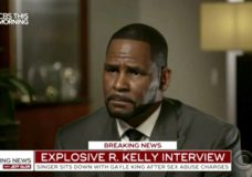 """This image provided by CBS shows R. Kelly being interviewed by Gayle King on """"CBS This Morning"""" Wednesday, March 6, 2019 in Chicago. The R&B singer gave his first interview since being charged last month with sexually abusing four females dating back to 1998, including three underage girls. Kelly has pleaded not guilty to 10 counts of aggravated sexual abuse. (CBS via AP)"""