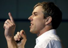 Democratic presidential candidate Beto O'Rourke speaks at an event at The Hub Robison Center on the Penn State campus in State College, Pa., Tuesday, March 19, 2019. (AP Photo/Gene J. Puskar)
