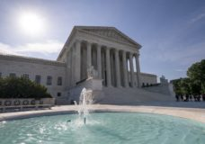 he Supreme Court is seen in Washington as the justices prepare to hand down decisions, Monday, June 17, 2019. (AP Photo/J. Scott Applewhite)