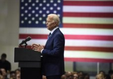 Democratic presidential candidate and former vice president Joe Biden speaks at a campaign event in Sumter, S.C, on Saturday, July 6, 2019. (AP Photo/Meg Kinnard)