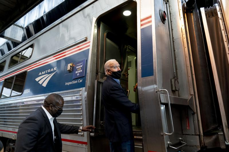 All Aboard! Biden To Help Amtrak Mark 50 Years On The Rails
